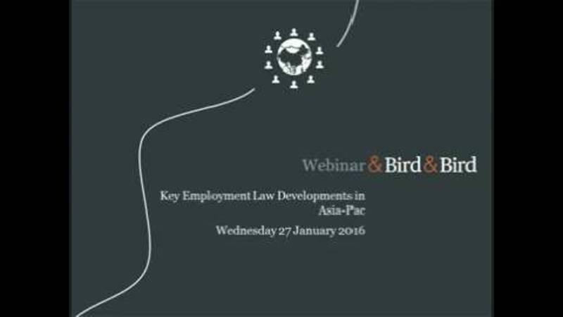 Asia pacific employment webinar with pattie walsh bird bird next video in 5 ccuart Choice Image